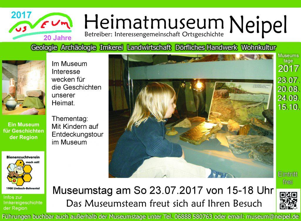 Thementag – Mit Kindern auf Entdeckungstour im Museum