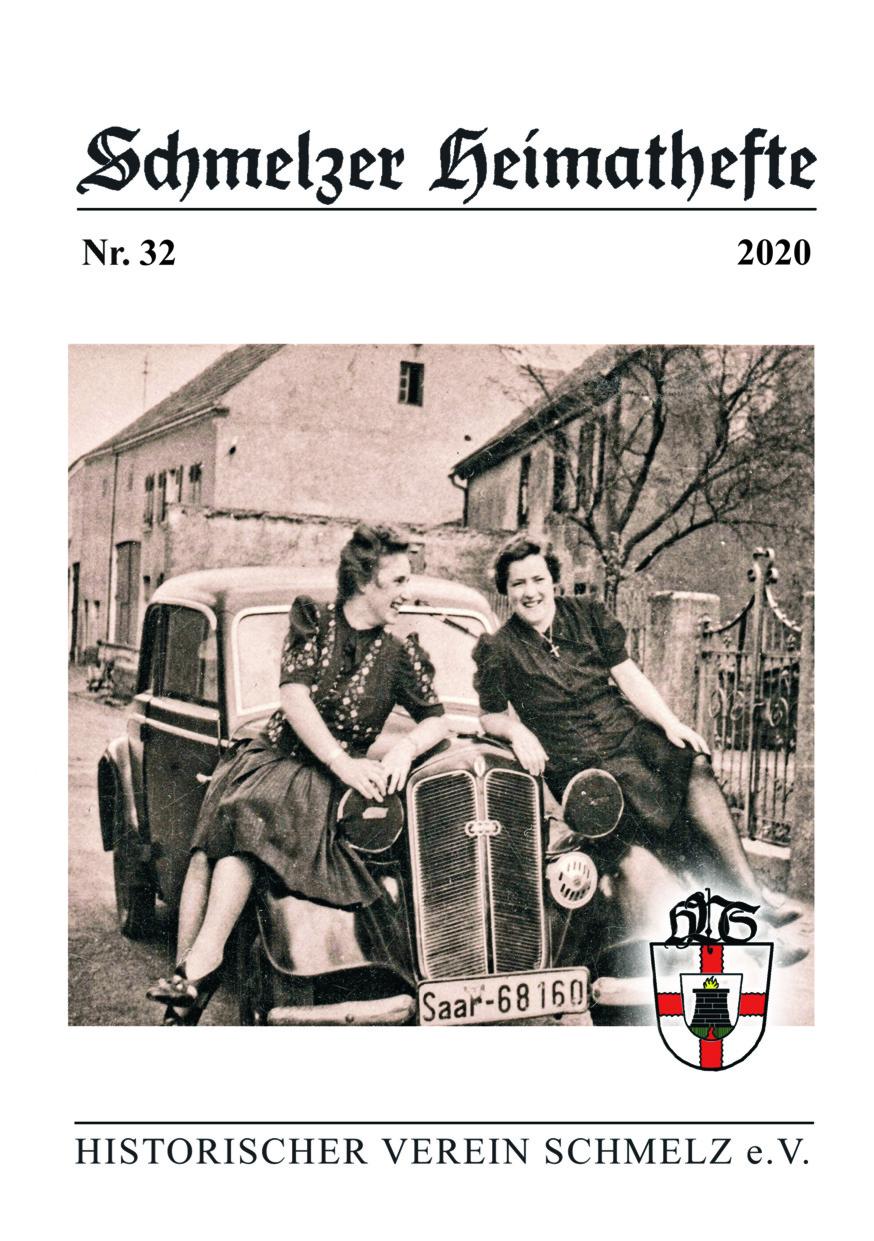 Cover Schmelzer Heimatheft 32, 2020